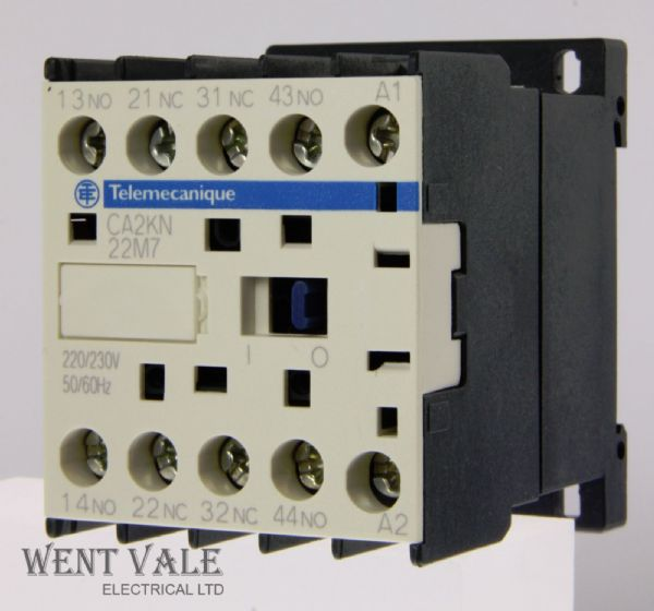 Telemecanique TeSys - CA2KN22M7 - 10a Control Relay 2NO 2NC Contacts 230vac Coil